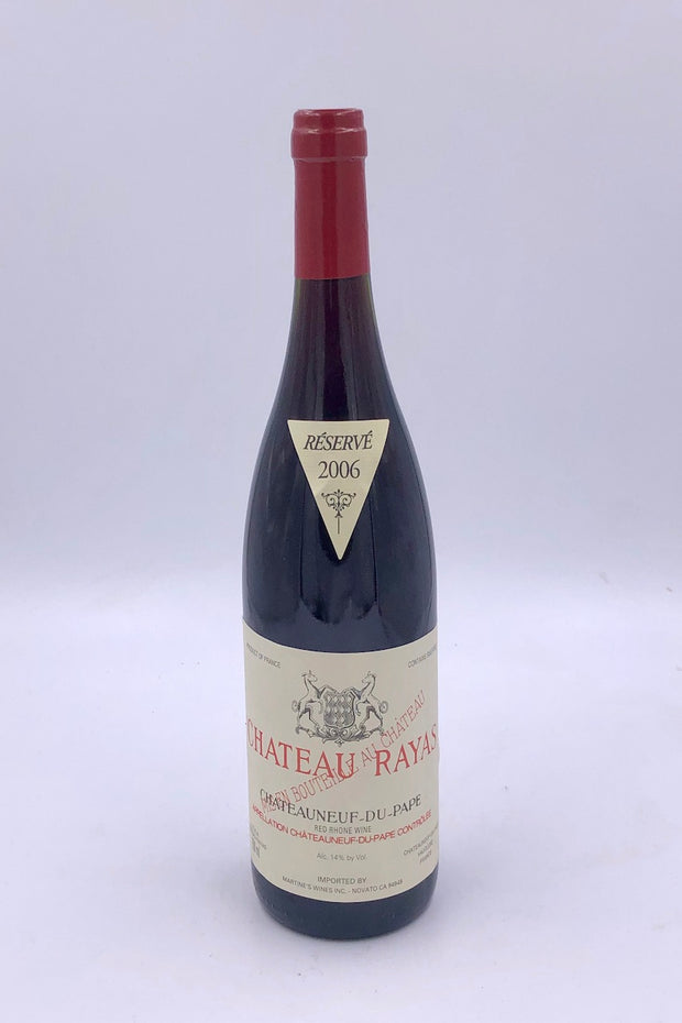 Chateau Rayas, Reserve, Chateauneuf-du-Pape, Grenache, 2006