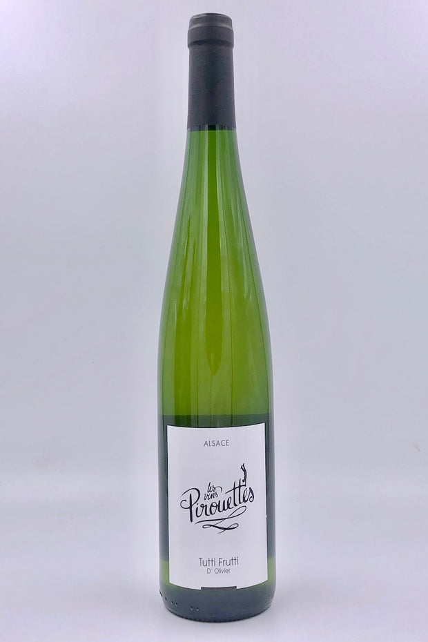 Les Vins Pirouettes, Tutti Frutti d'Oliver, Alsace, Pinot Gris/Gewurztraminer/Pinot Blanc/Muscat Blanc, 2018