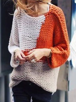 Orange Long Sleeve Casual Shirts & Tops