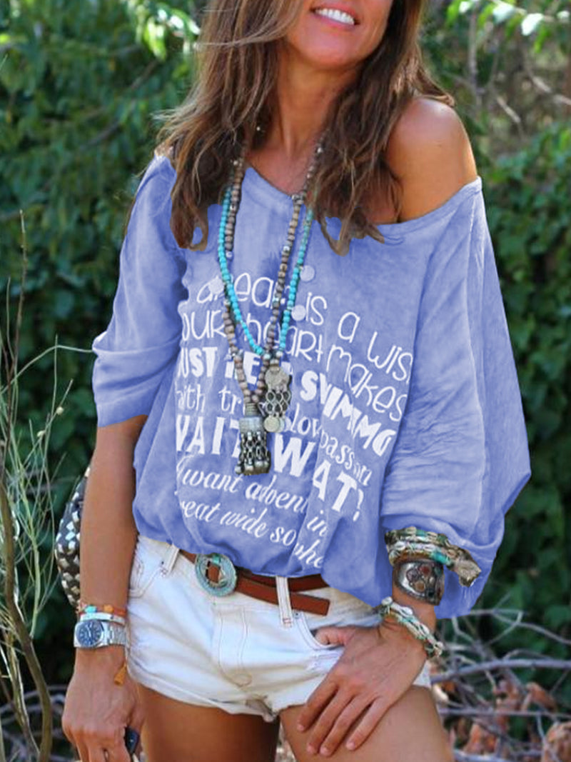 Printed Sweet Cotton Shirts & Tops