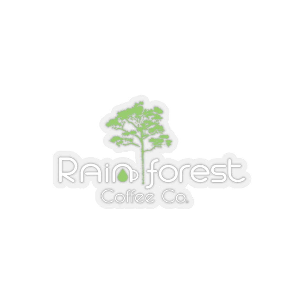 Rainforest Coffee Co. Kiss-Cut Stickers