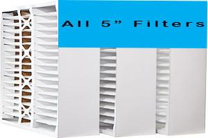 "ALL 5"" FURNACE FILTERS"