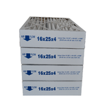"16x25x4 Furnace Filter MERV 8 Pleated Filters. Actual Size 15 1/2"" x 24 1/2"" x 3 5/8."" Case of 4"