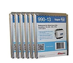 "990-13 Humidifier Vapor Pad for 1042 / 1040 Series GFI 7002 12"" x 9 3/4"" x 1 1/2"" Package of 6."