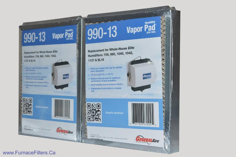 Generalaire 990-13 for Model 1042 Humidifiers. Package of 2.