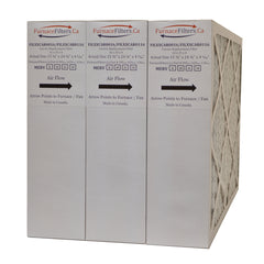 Carrier FILCCCAR0016 Furnace Filter Size 16 x 25 x 4 5/16. MERV 13. Case of 3.