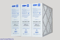 "G1-1056 Furnace Filter MERV 14. Actual Size 15 3/8"" x 25 1/2 x 5 1/4."" Case of 3"