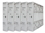 "Honeywell 20x25x4 Furnace Filter Model # FC100A1037 MERV 11. Actual Size 19 15/16"" x 24 7/8"" x 4 3/8"" Case of 5."