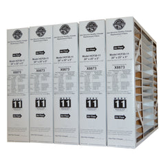 Lennox X6673 Furnace Filter 20x25x5 Healthy Climate MERV 11 for Model HCF20-11. Package of 5