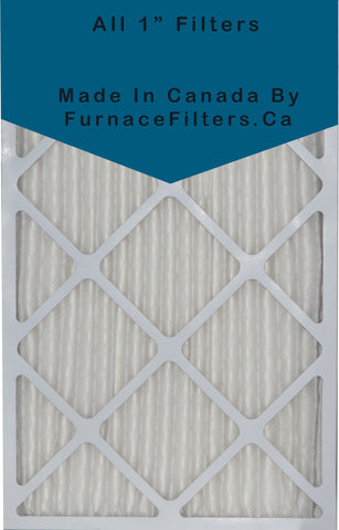 20x24x1 Furnace Filter MERV 8 Pleated Filters. Case of 12