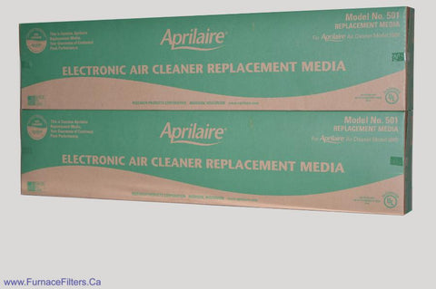 Aprilaire 501 Furnace Filter MERV 10 for Model 5000. Package of 2.