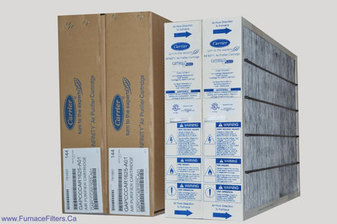 Carrier GAPCCCAR1625 Furnace Filter Genuine 16x25 Air Purifier Cartridge. Package of 2.