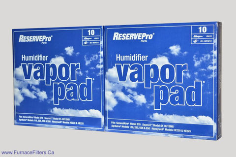 GA10 Generalaire Humidifier Vapor Pad for Model 570 Package of 2.