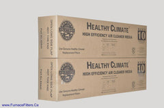 Lennox X0445 Furnace Filter Healthy Climate MERV 10 for PMAC-20C. Package of 2.