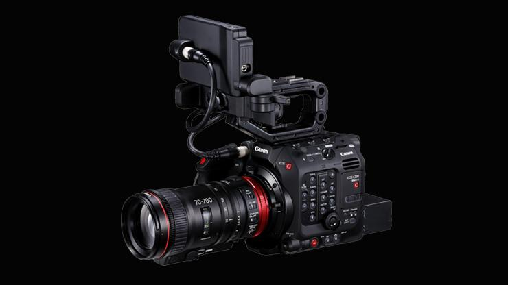 The Canon EOS C300 Mark III & Cinema EOS System camera firmware update