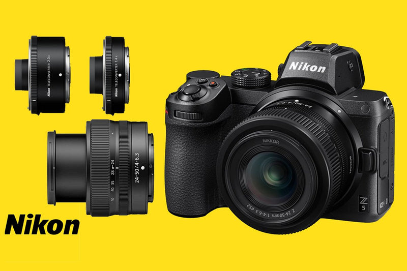 Nikon launches the new Nikon Z5 , NIKKOR Z 24-50mm f/4-6.3 & Z-mount teleconverters - Cameratek