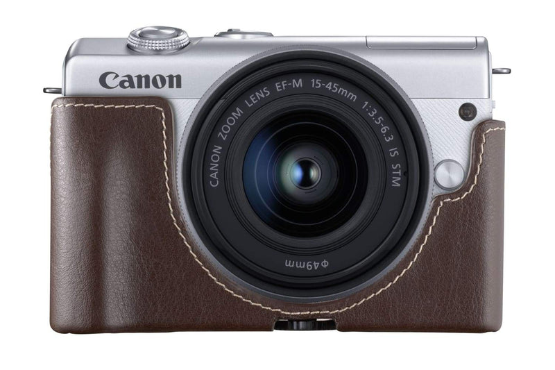 The EOS M200's blend of DSLR quality and smartphone convenience. - Cameratek