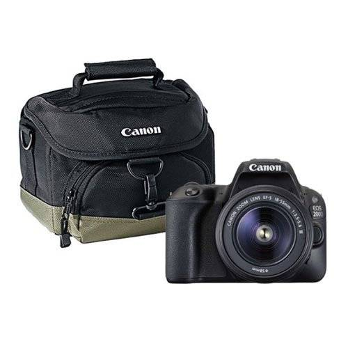 Canon EOS 2000D DSLR Treasured Memories Starter Bundle | 2000D + 18-55mm f/3.5-5.6 III  + 16GB SD + Bag