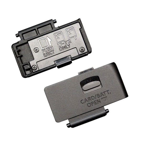 Canon EOS 100D Battery Door ( Black )  Cameratek