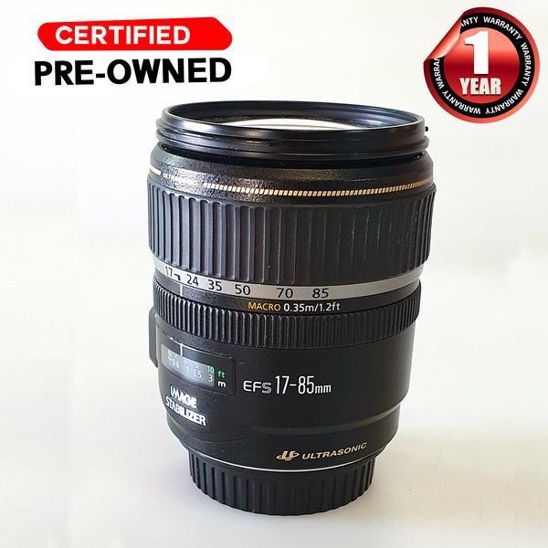 CANON EF-S 17-85MM F4-5.6 IS USM Second Hand