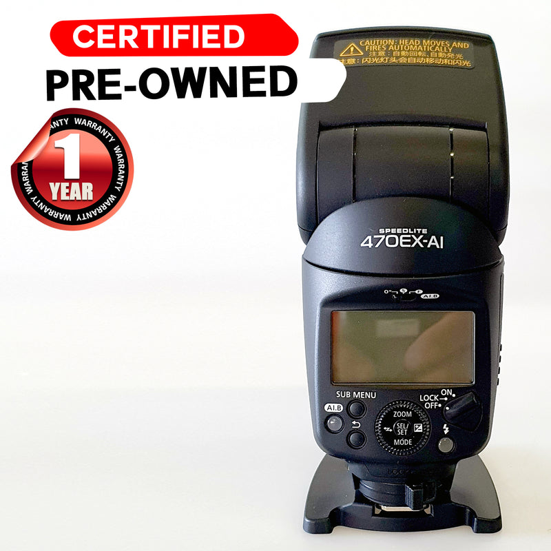 CANON SPEEDLITE 470EX-AI Second Hand