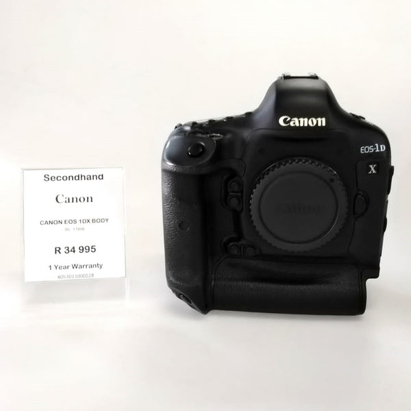 Canon EOS-1D X Second Hand
