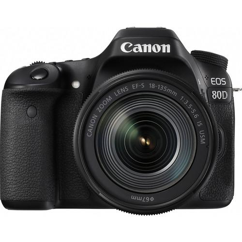 Canon EOS 80D DSLR Camera with 18-135mm Lens - Cameratek