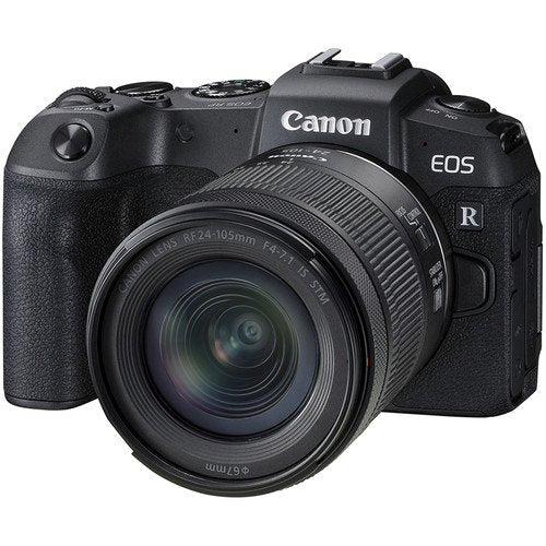 Canon EOS RP Full-Frame Mirrorless Camera + RF 24-105mm f/4-7.1 IS STM Lens  Cameratek