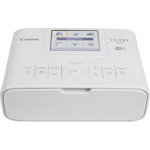 Canon SELPHY CP1300 Compact Photo Printer (White) - Cameratek