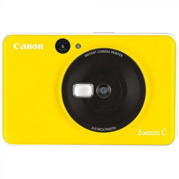 Canon ZoeMini C Instant Camera & Printer (Bumblebee Yellow)