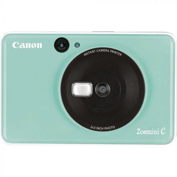 Canon ZoeMini C Instant Camera & Printer (Mint Green)