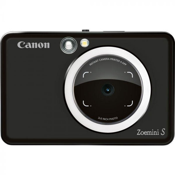 Canon ZoeMini S Instant Camera & Printer (Matt Black)