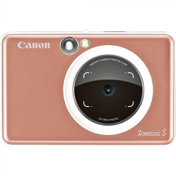 Canon ZoeMini S Instant Camera & Printer (Rose Gold)