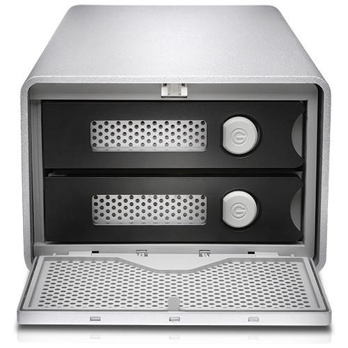 G-Technology G-RAID 8TB Removable Thunderbolt 3 Silver EMEA  Cameratek