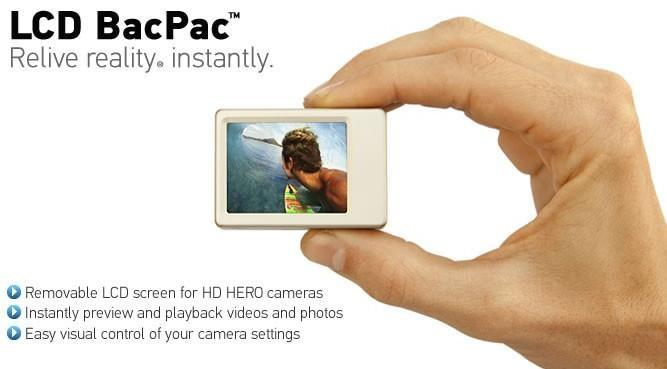 GOPRO HD HERO2 / ORIGINAL HD HERO LCD
