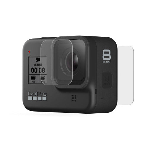 GoPro Tempered Glass Lens + Screen Protectors for HERO8 Black