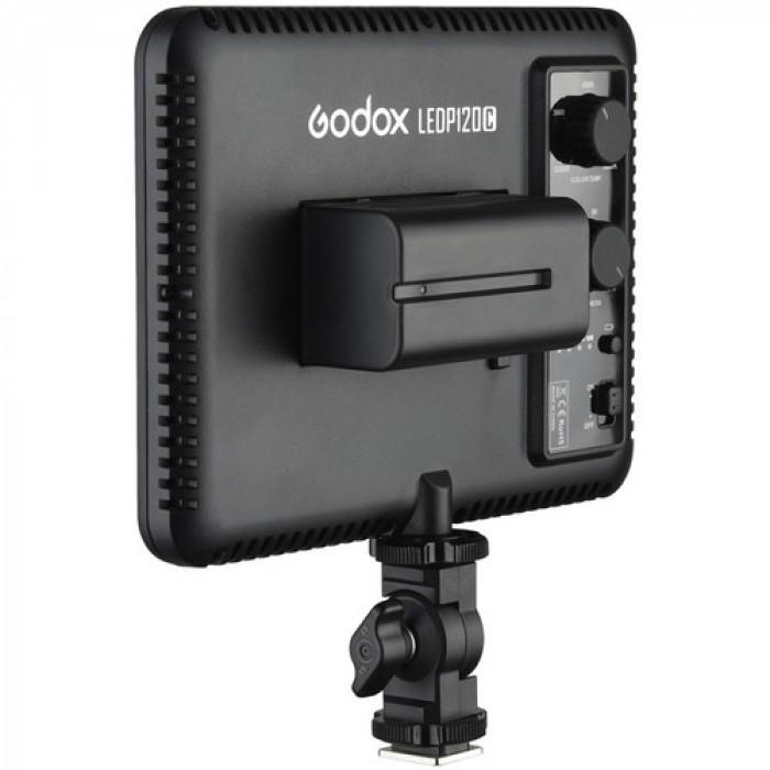 Godox LED P120 Ultra Slim Video Light comes with NPF550 battery and charger  Cameratek