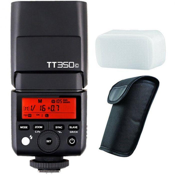 Godox TT350C Mini Thinklite TTL Flash for Canon Cameras - Cameratek