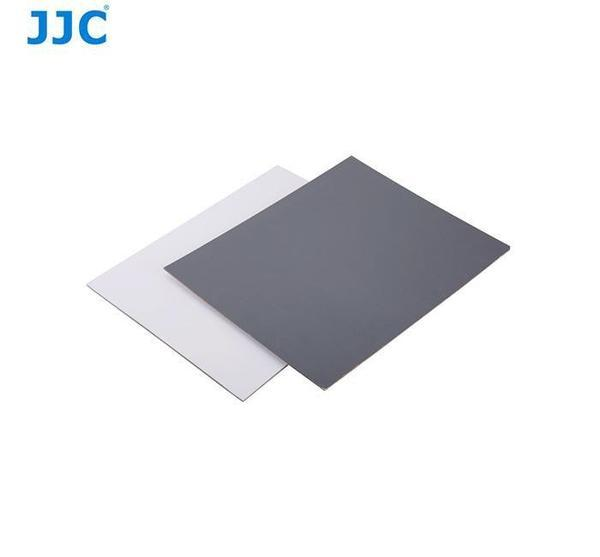 "JJC White Balance & Grey Card 8x10"" (2 Pack) - Cameratek"