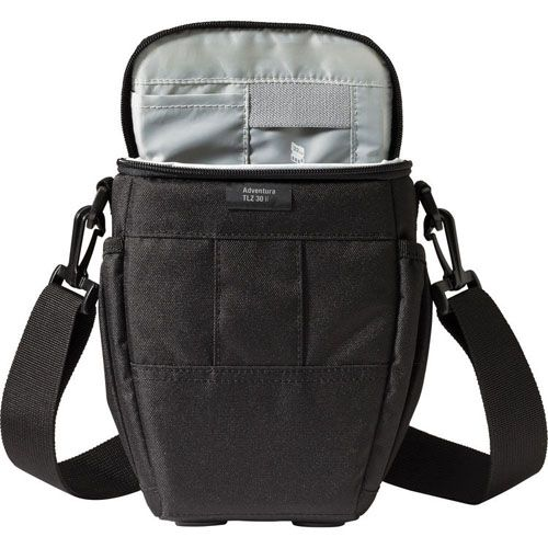Lowepro Adventura TLZ 30 II Top Loading Shoulder Bag (Black) - Cameratek