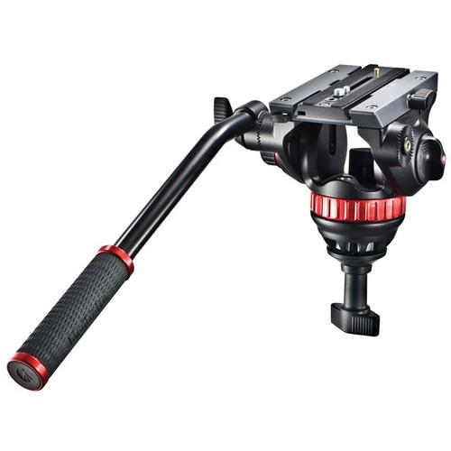 Manfrotto 502A Pro Video Head with 75mm Half Ball - Cameratek