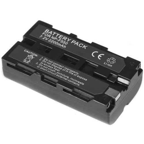 GPB Rechargeable Battery for Sony NP-F550  Cameratek
