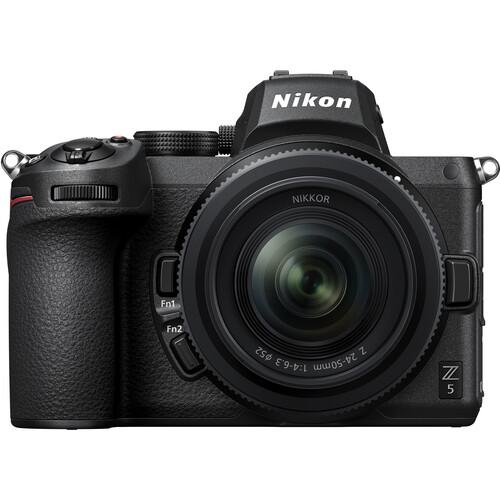 Nikon Z5 Mirrorless Digital Camera + 24-50mm f/4-6.3 Lens + FTZ Adaptor - Cameratek