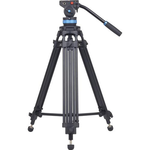 Sirui SH15 Aluminum Video Tripod with Fluid Head - Cameratek