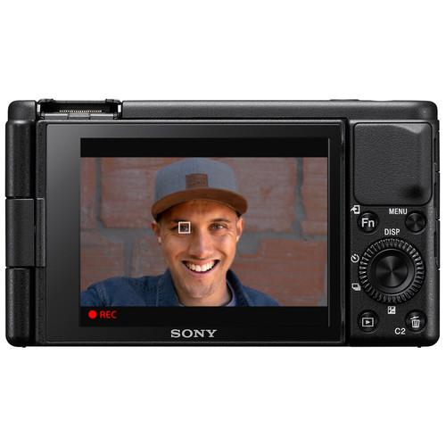 Sony ZV-1 Digital Camera with Free Bluetooth GP-VPT2 Shooting Grip (Shooting Grip Claim Back with Sony) - Cameratek