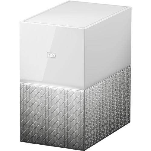 WD My Cloud Home Duo 6TB 2-Bay Personal Cloud NAS Server (2 x 3TB)  Cameratek