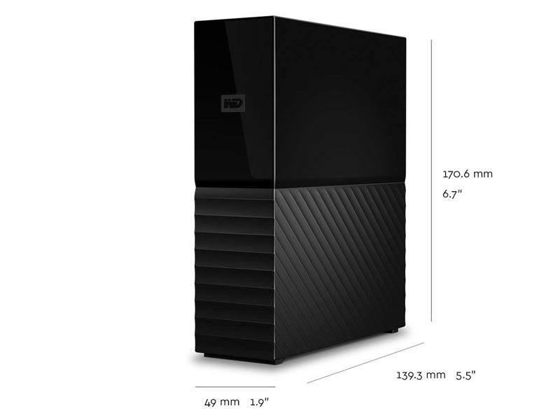 Western Digital My Book External 6TB EMEA - Cameratek