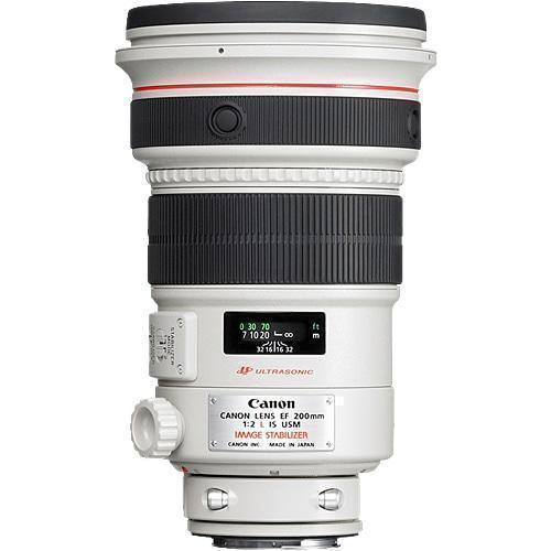 Canon EF 200mm f/2 L IS USM Lens-Cameratek
