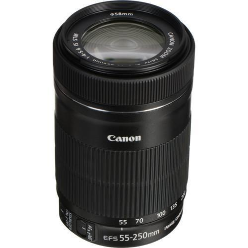 Canon EF-S 55-250mm F4-5.6 IS STM-Cameratek