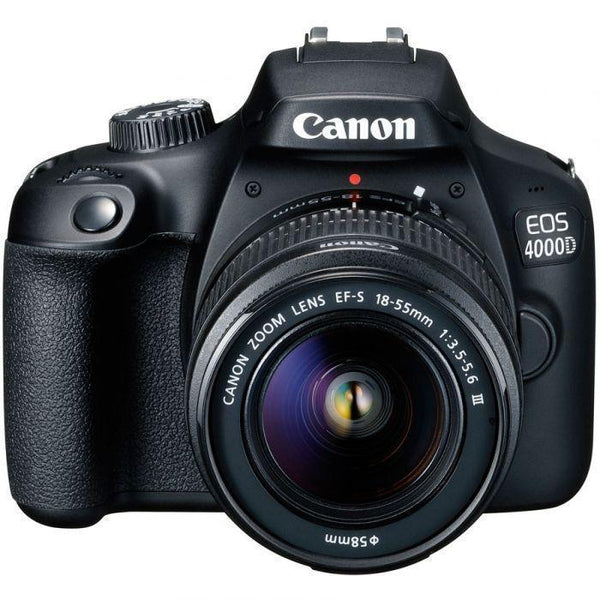 Canon EOS 4000D DSLR with EF-S 18-55mm DC Lens, Bag & 16GB Card-Cameratek